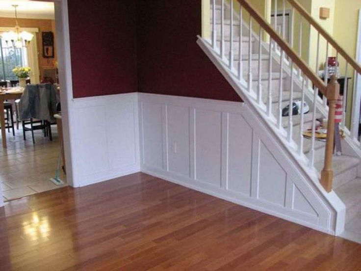 Dining Room Raised Panel Wainscoting