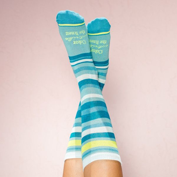 Bamboo Socks: Color Outside the Lines