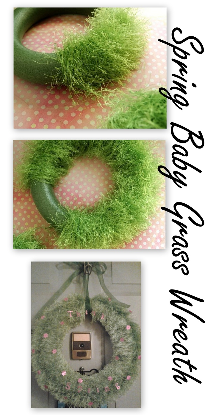 Fun Fur wreath
