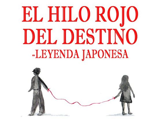 DE TODO UN POCO: EL HILO ROJO DEL DESTINO.leyenda japonesa.