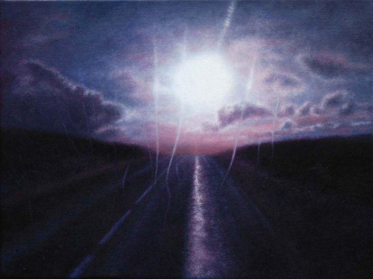 Audrey Nervi - 2013 oil on canvas - 30 x 40 cm www.evahober.com