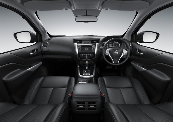 Panaromic interior view of #Nissan #Navara #PickupTruck 2015. New Model Nissan Navara NP300 Bangkok, Thailand available for export at Jim Autos Thailand http://toyota-dealer.org/2015-nissan-navara-np300.html