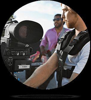 Digital Film students working