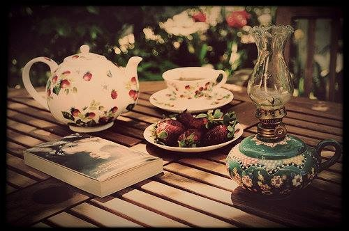 Tea and book time