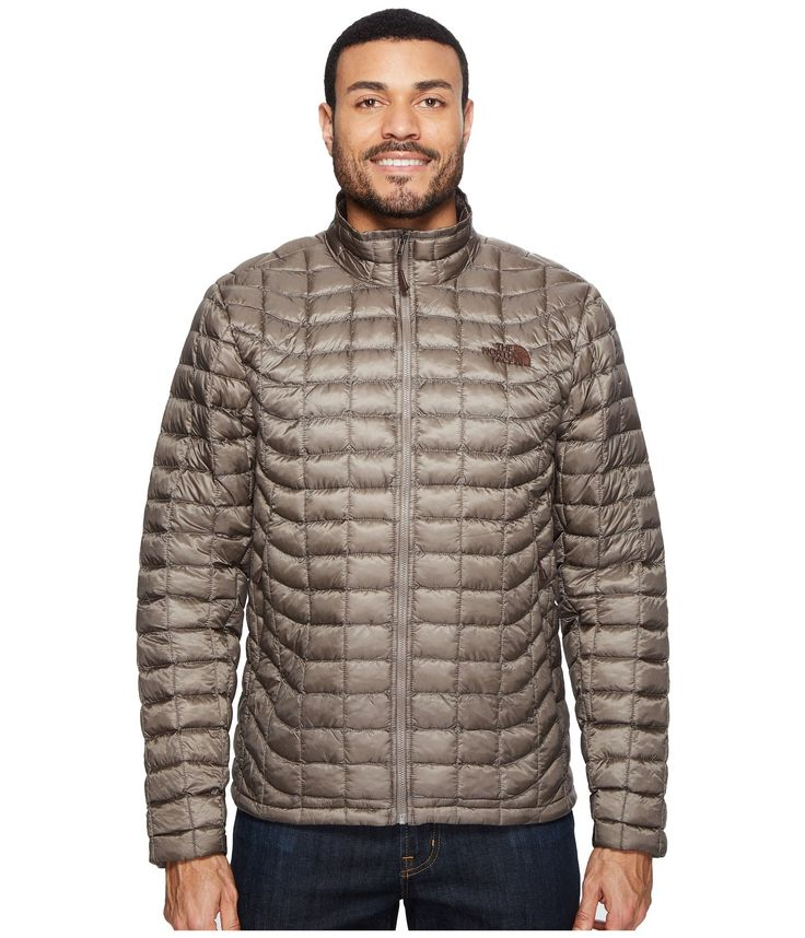 The North Face Men's Thermoball Full Zip Jacket (Small, Falcon Brown)