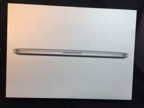 13 inch  MacBook Pro A1502 Empty Box with Inserts  13 1/2  X 10  X 2 1/4