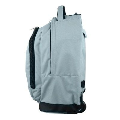 NBA Boston Celtics Mojo Premium Wheeled Backpack - Grey, Durable