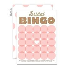 An awesome place to get bridal shower game cards! Wedding Paper Divas