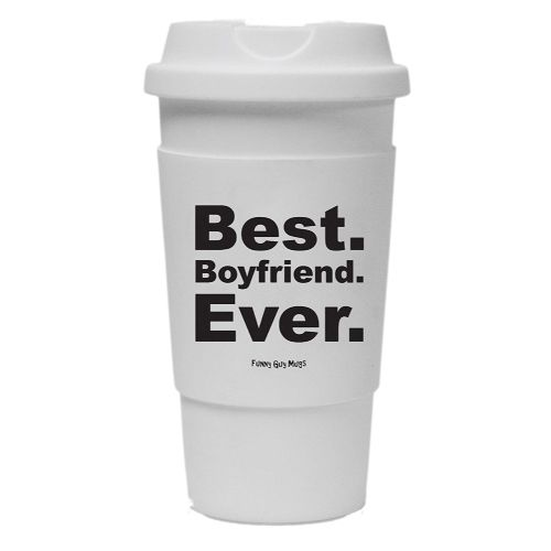 Best Boyfriend Ever Travel Tumbler- Valentines Day Gifts For Boyfriend