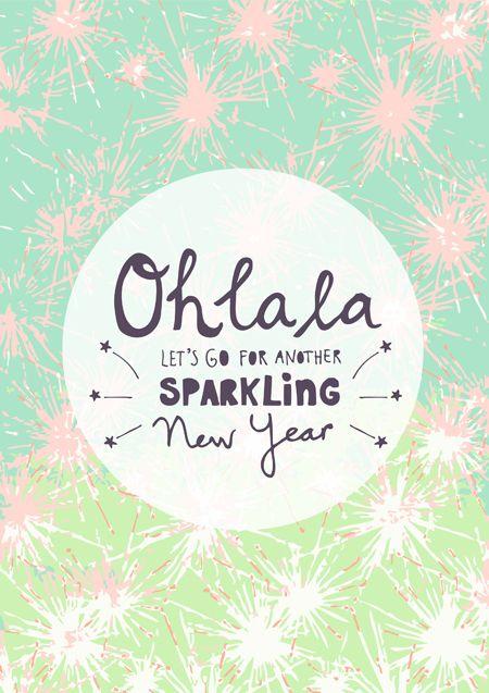 Sparkling New year! by Studio Sjoesjoe www.studiosjoesjoe.com