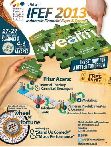 Indonesia Financial Expo & Forum 2013 http://bit.ly/16ANfwE