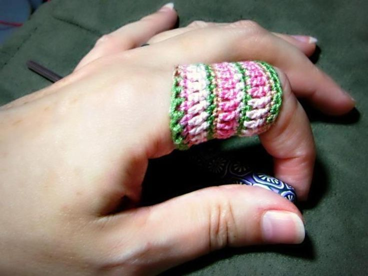 The Even Easier Crocheter's Finger Saver