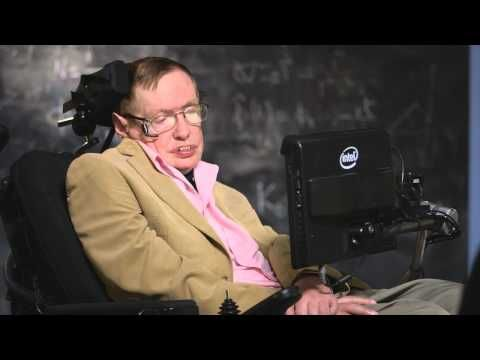 ▶ Last Week Tonight with John Oliver (HBO): Stephen Hawking Interview - YouTube