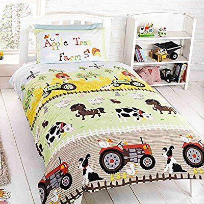 17 meilleures id es propos de lit tracteur sur pinterest for Housse de couette 1 personne enfant
