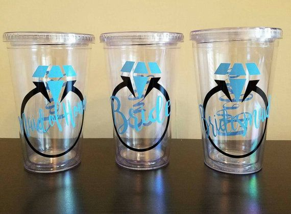 Acrylic Tumbler, personalized double wall tumbler, Acrylic cup, custom plastic cup with straw, vinyl decal, novelty gift, 16 oz cup & lid