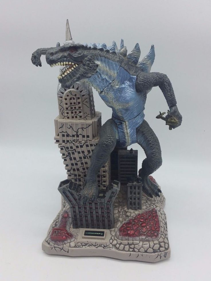 TOHO 1998 Vintage Godzilla Empire State Building Animated Toy Figurine Coin Bank | Toys & Hobbies, Robots, Monsters & Space Toys, Monsters | eBay!