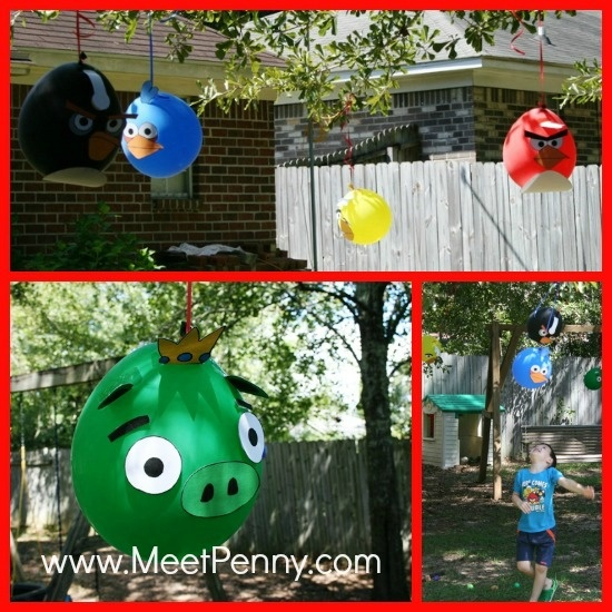 Angry birds theme birthday party for Angry bird birthday decoration ideas