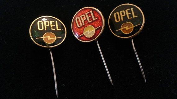Opel Car Vintage Pins Germany by PinsParadise on Etsy