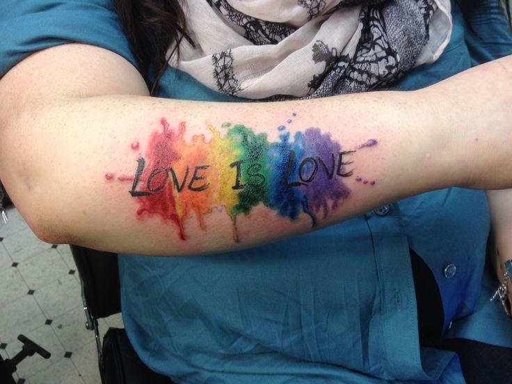 40 best pride ink images on pinterest pride tattoo gay pride tattoos and rainbow tattoos. Black Bedroom Furniture Sets. Home Design Ideas