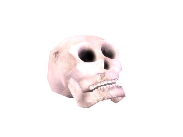 sim_man123's Spooky Skull