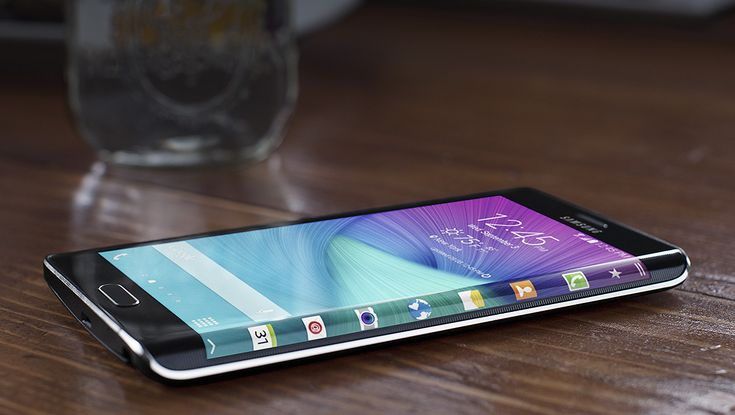 Samsung Galaxy Note Edge screen
