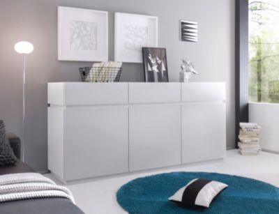 Die besten 25+ Sideboard weiss Ideen auf Pinterest Ikea-gang - wohnzimmer weis blau