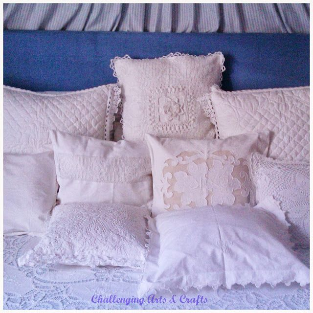 Challenging Arts & Crafts: a parade of pillowcases and laces