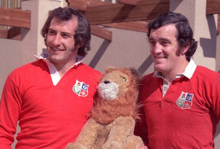 Gareth Edwards & Phil Bennet - Lions