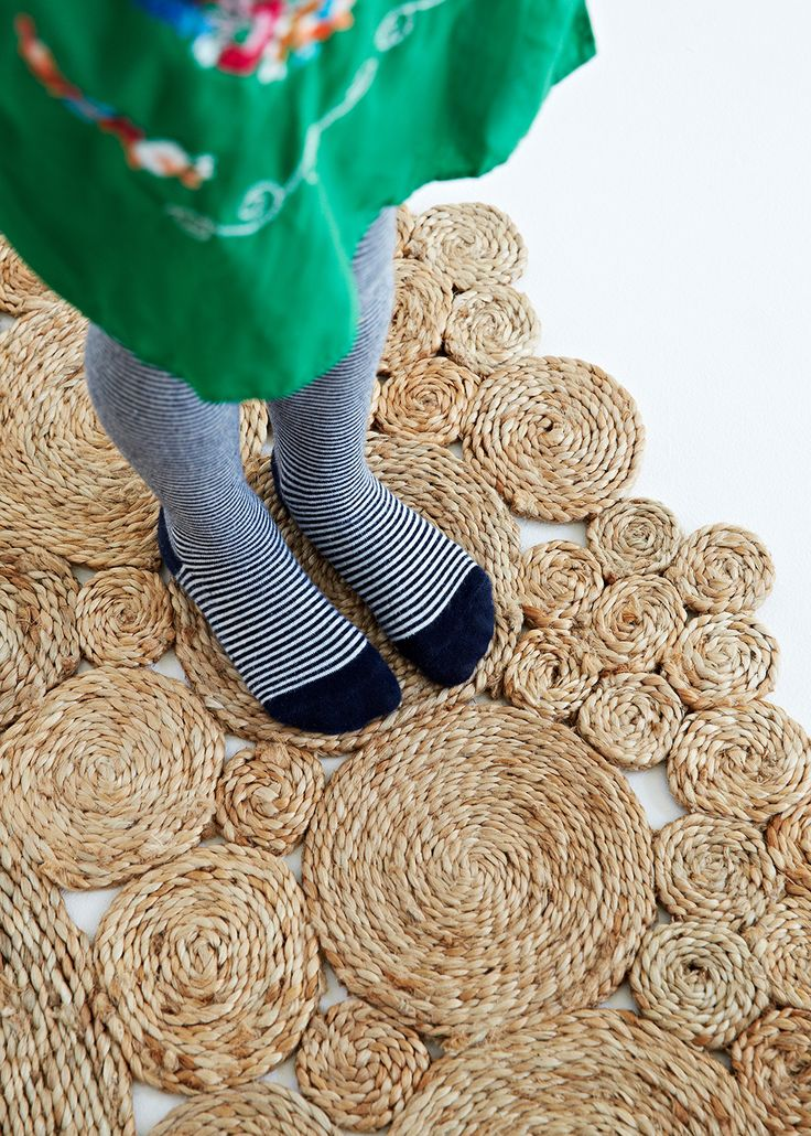 Our Geranium rug. Handwoven and stitched from 100% hemp | See more at www.armadillo-co.com