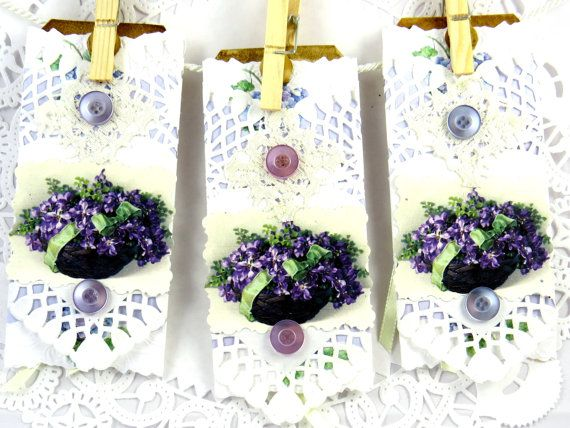 Violet Comes first then add White to be in the Pink !! by Janet on Etsy