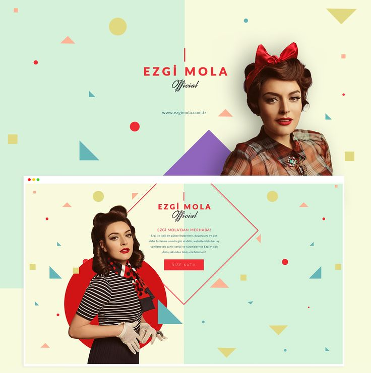 Ezgi Mola Official Website on Behance
