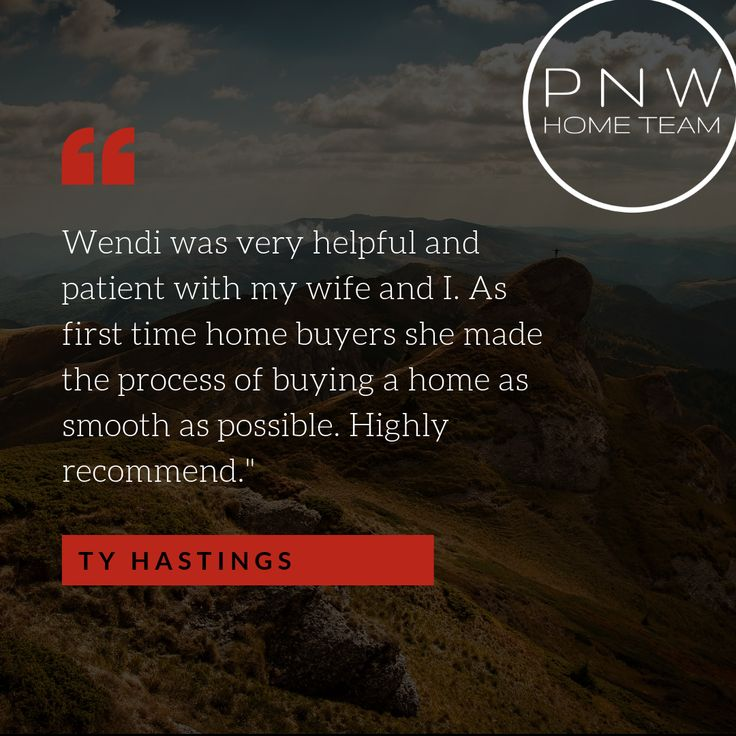 What our clients are saying about Pacific Northwest Home