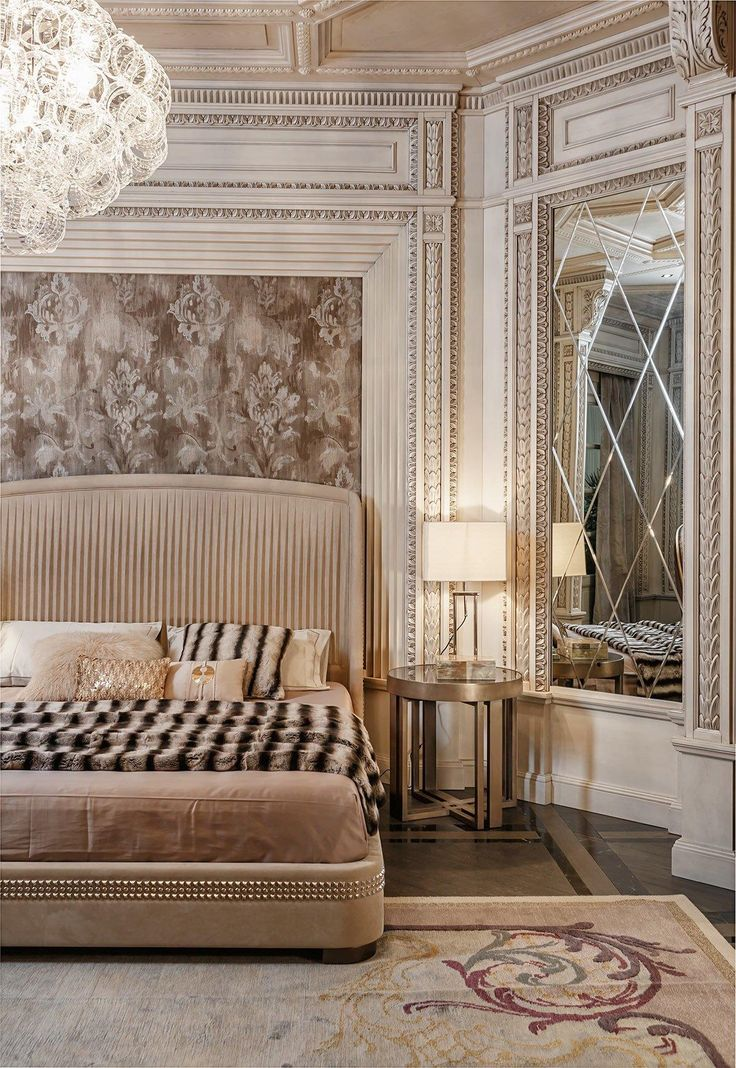 Neoclassical And Art Deco Features In Two Luxurious Interiors · Art Deco BedHome  Decor ...