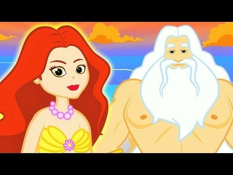 (1) Die kleine Meerjungfrau Gute Nacht Geschichte | Märchen für Kinder | Animation HD auf Deutsch - YouTube