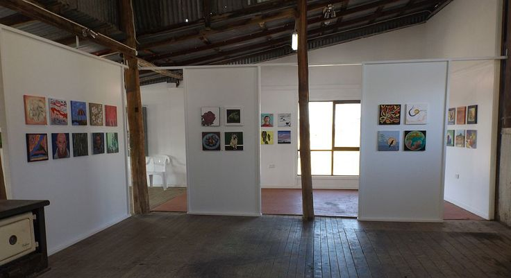 Works in situ, 'Squares 2015', 17 May – 14 June 2015, The Woolshed, Strathnairn Arts
