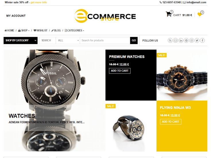 eCommerce Store is a child theme of MaxStore WooCommerce WordPress theme. eCommerce Store is multipurpose WooCommerce WordPress Theme suitable for eCommerce websites of any store type: sport, technology, fashion, furniture, digitals etc. Its modern design is perfect to create a website for your business. eSotre includes plenty of customization options that are easy to use. Main features of ecommerce-store: Customizer theme options, background image and color, wishlist support, grid homepage…