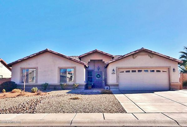 3/2/18. Four bedroom, two bathroom, two car garage, 2,033 sq.ft. on a 0.22 acre lot. $278,000. Call Ryan Haymore 520-266-4234, or Ron Haymore 520-678-1796. Haymore Real Estate. Direct MLS link at www.AZrealestatepress.com. Get more info on 24 of the current issue of Real Estate Press.
