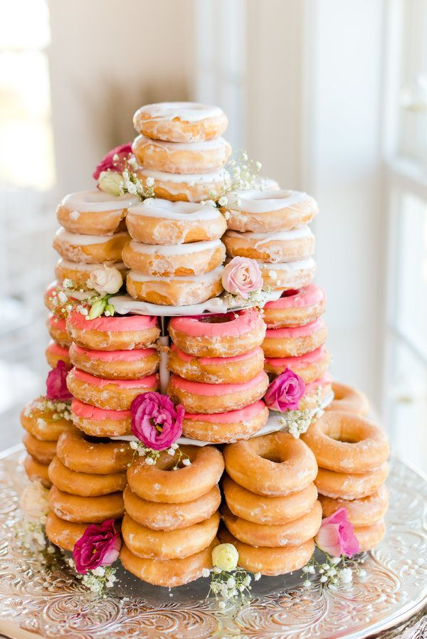 This donut cake is a thing of beauty | Emily Sacra Photography