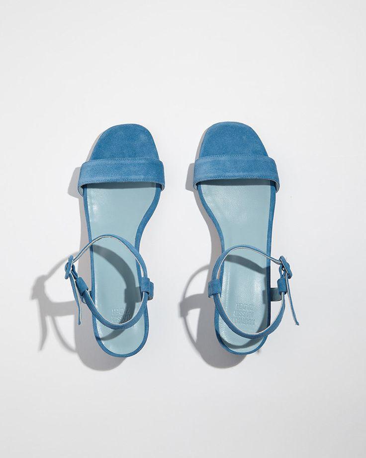 MARYAM NASSIR ZADEH | Sophie Suede Sandal | Shop at La Garçonne