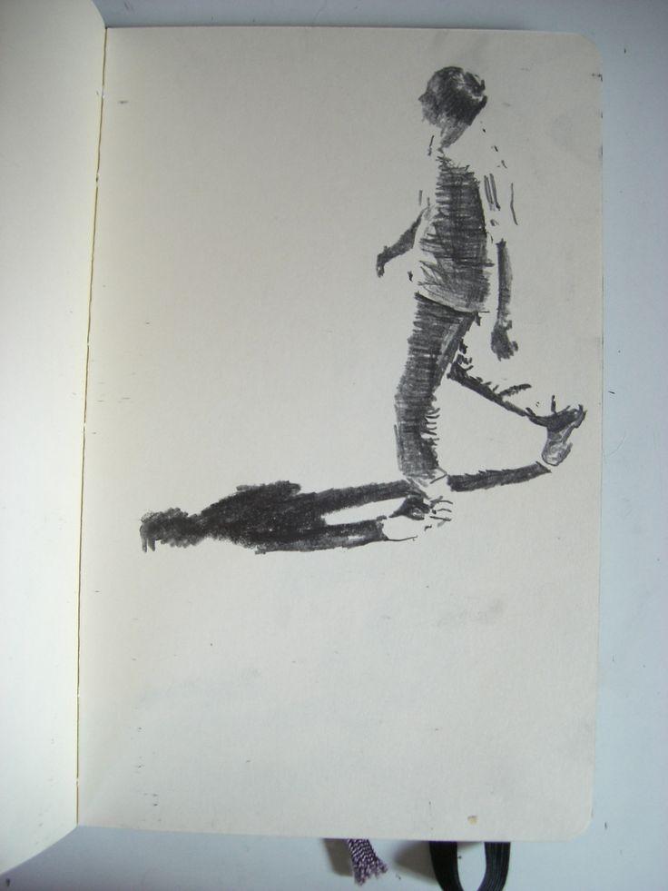 Moleskine #150 graphite pencil drawing
