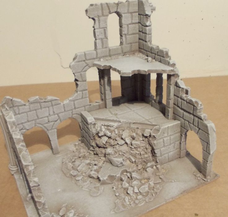 Ancient Ruin - Osgiliath - Frostgrave - LOTR - Fantasy - Wargames Scenery