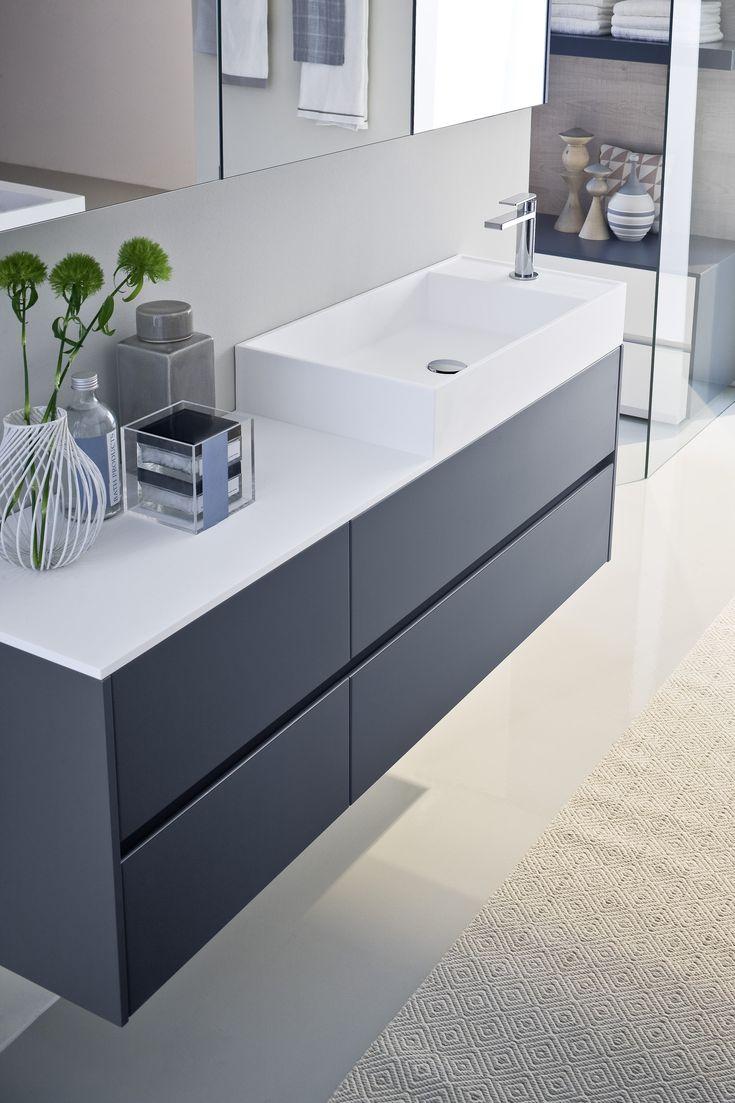 65 best ba os images on pinterest mirror bathroom ideas - Mueble bajo lavabo ...