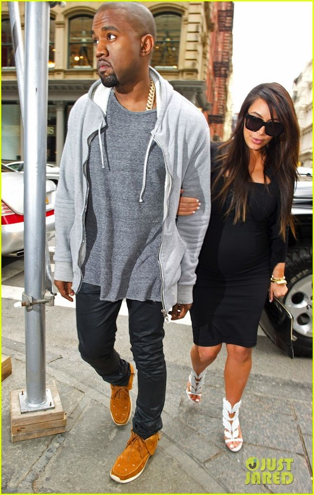 Kanye West Wearing Visvim Fbt Shaman Street Fashion