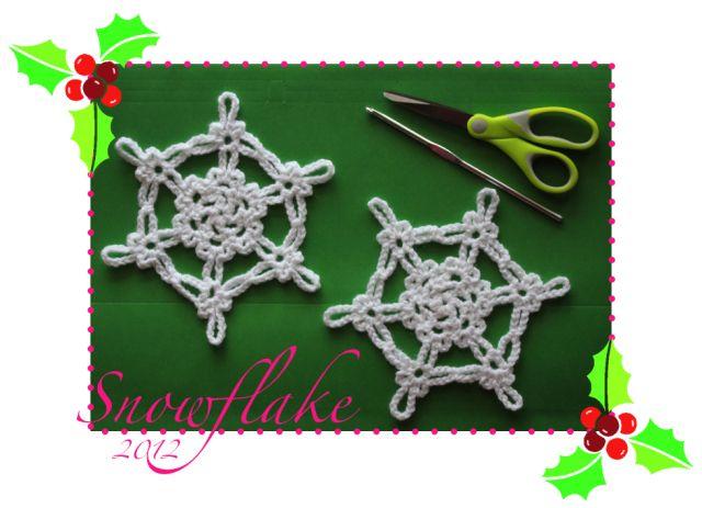 {2012} Simple Snowflake  