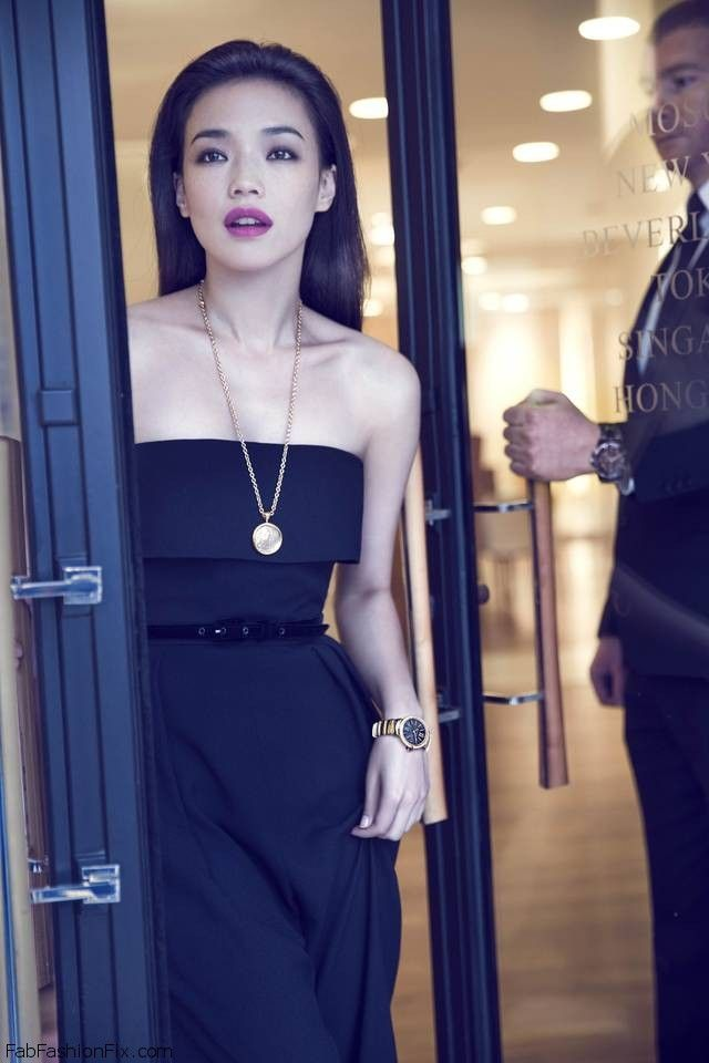 Shu Qi stars in new BVLGARI Campaign for LVCEA Timepieces. #bvlgari