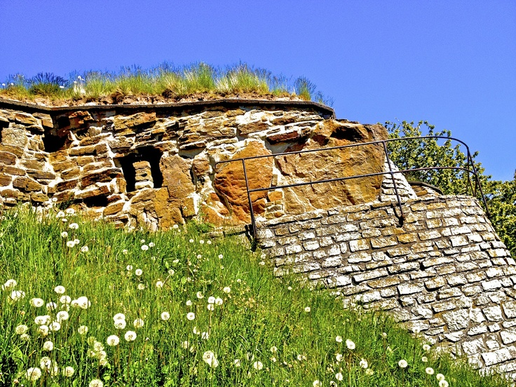Ancient castle ruins on Visingo Island