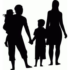 Silhouette Design Store - View Design #78772: family