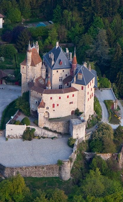 Château de Menthon-Saint-Bernard, France has been in the same family for 1000 years