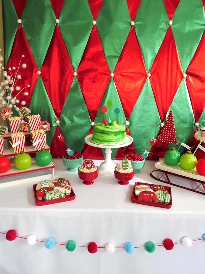 Fun Christmas Party Ideas Part - 42: Christmas Ugly Sweater Party On Karau0027s Party Ideas | KarasPartyIdeas.com ...