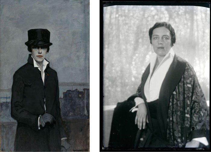 Elfeledve halt meg a 20. század egyik legjelentősebb leszbikus, feminista festőnője - Librarius